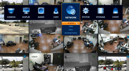 networked cctv by wall to wall security